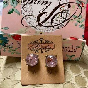 "Plunder Vintage Jess Mo ""Doris"" stud earrings"